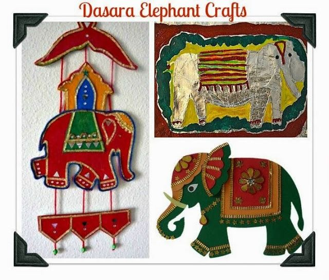 Looking for Dasara Elephant Crafts to make . We have 5 ideas