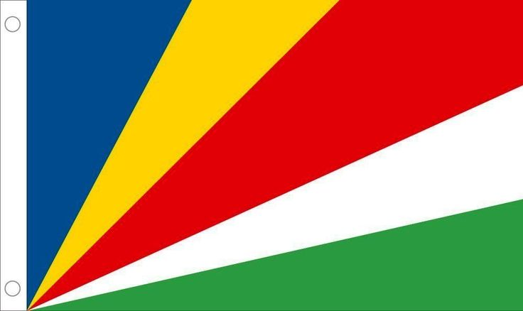 Seychelles Country Outdoor Flag Nylon 3 x 5 Feet Allied Flag NEW