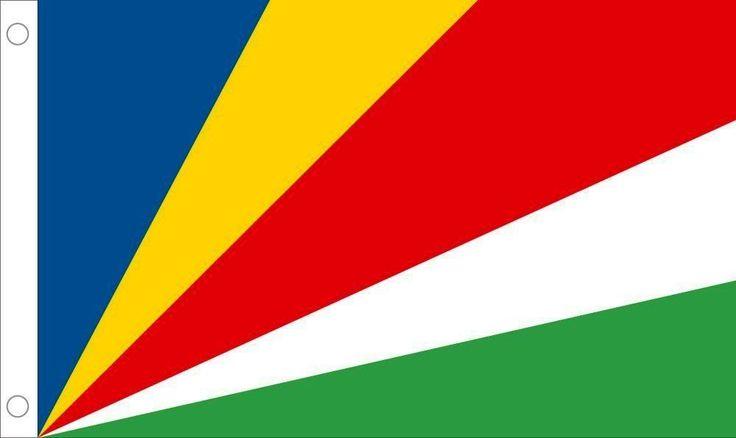 Seychelles Country Outdoor Flag Nylon 3 x 5 Feet Allied Flag NEW
