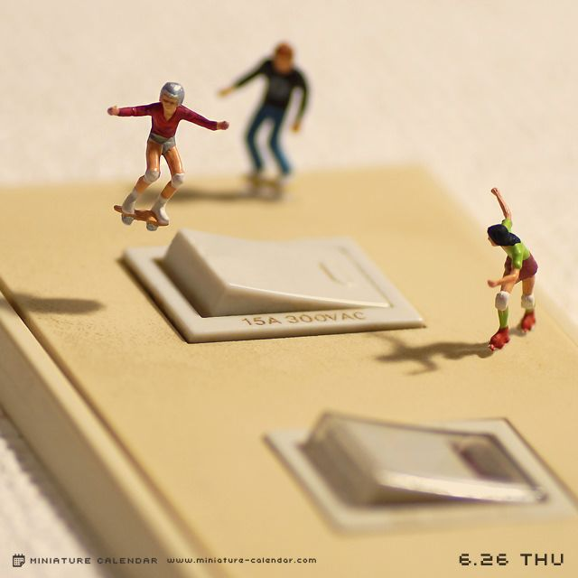 Switch‍♀️‍♀️PHOTOGRAPHY : LITTLE PEOPLE / MINATURE SCENES / MACRO PHOTOGRAPHY / SCALE 1/87 HO / TANAKA TATSUYA / DIORAMA‍♀️‍♀️‍♀️More Pins Like This At FOSTERGINGER @ Pinterest ‍♂️