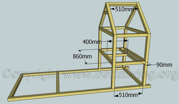 Free chicken coop plans DIY
