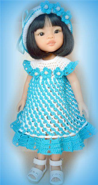Летний наряд для Паолочки. / Одежда для кукол / Шопик. Продать купить куклу / Бэйбики. Куклы фото. Одежда для кукол