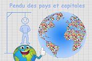 Pendu des pays et capitales d'Europe