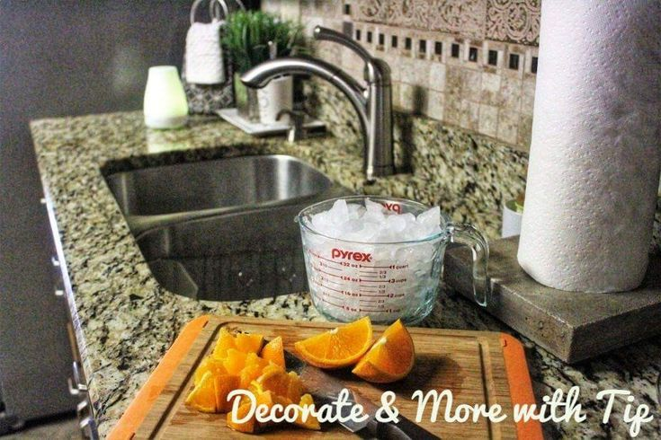 Cleaning your garbage disposal and drain