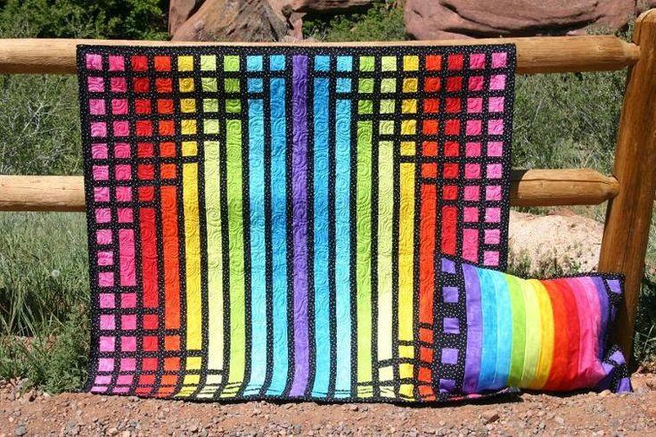 Quadricorn Color - a Jelly Roll Project | Craftsy