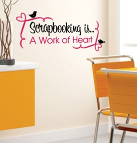 For you scrapbooking room!