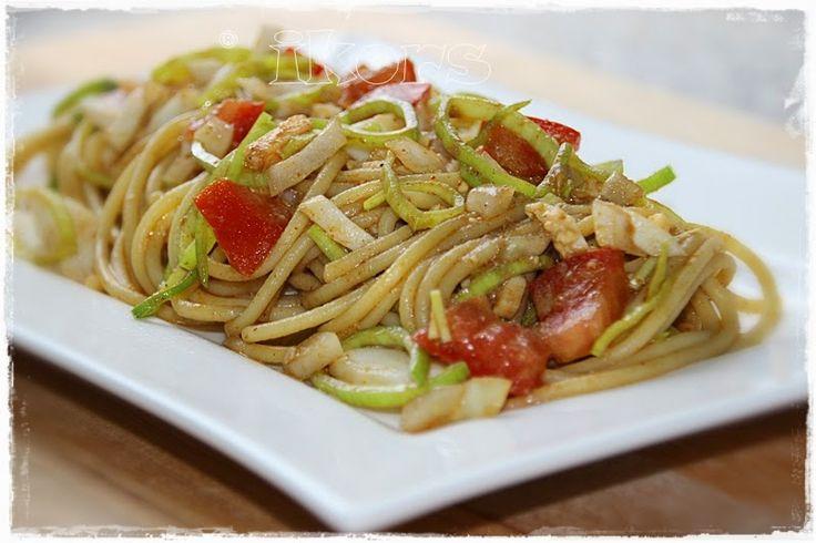 Kochen....meine Leidenschaft: Chinesischer Spaghettisalat