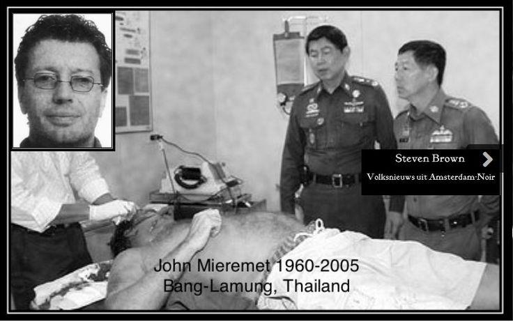 Johannes (John/Johnny) Mieremet (Amsterdam, 10 mei1960 - Pattaya, Thailand, 2 november2005) was een Nederlands crimineel. Hij begon zijn activiteiten in de jaren 80, toen hij zich met een aantal jeugdvrienden op overvallen enhasjhandel toelegde. Later wist hij steeds verder op te klimmen in dehiërarchie van de Amsterdamse misdaadwereld. Mieremet werd op 45-jarige leeftijd in Thailand geliquideerd.