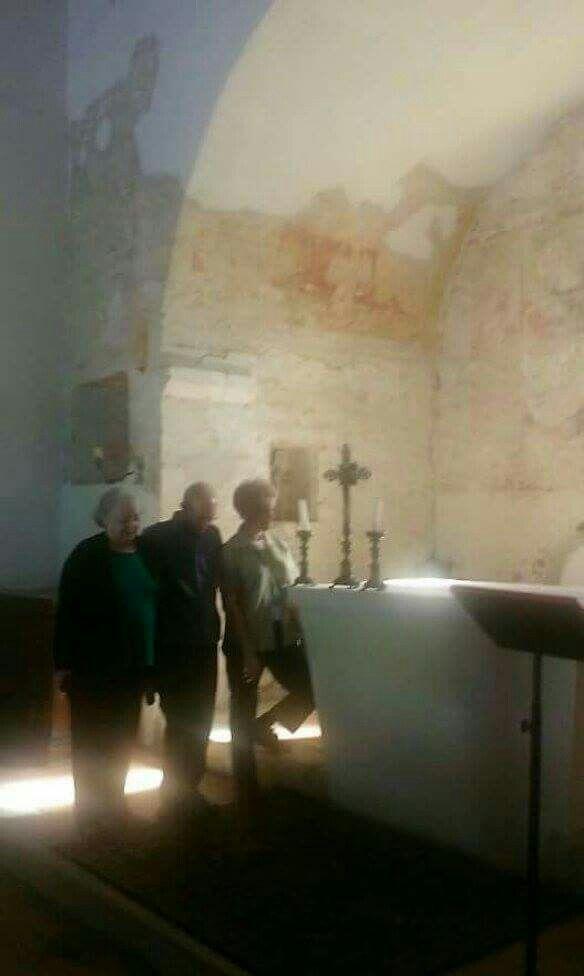 La chiesa dove i nonni Cruciani si sono sposati!  1908 E poi imbarcati da Napoli!! ❣
