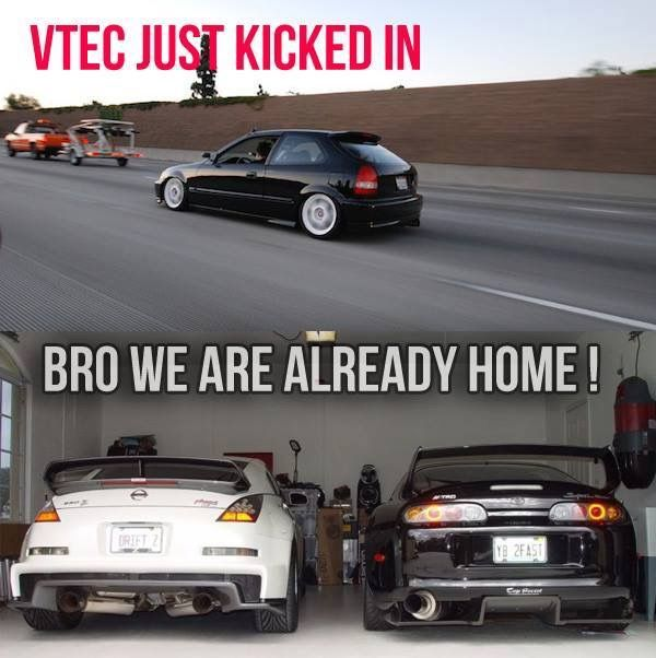 Even Tho I Drive A Honda I Have To Admit That Is Pretty Funny