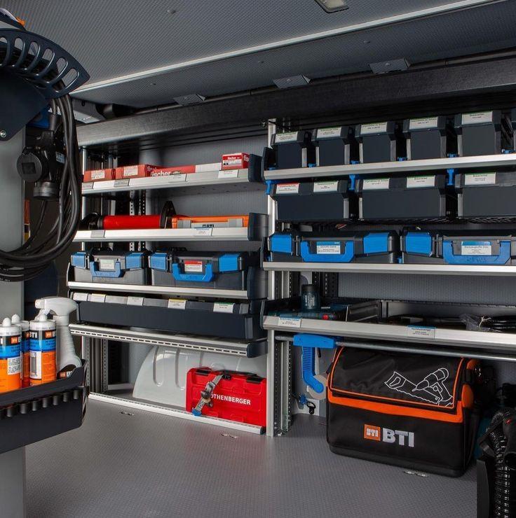 Pin By Paque Respete On Sortimo In 2019 Van Storage Van