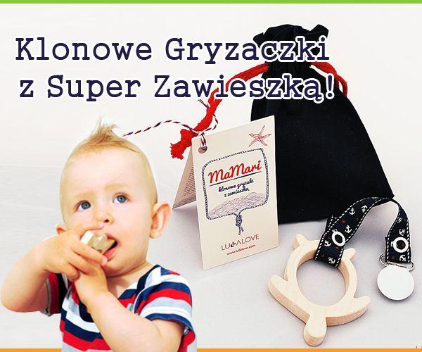 Naturalny, antyalergiczny, antybakteryjny i nietoksyczny. Bezpieczny produkt dla niemowląt już od 3 miesiąca życia :)  https://www.naturepolis.pl/pl/na-zabkowanie/3219-lullalove-mamari-klonowy-gryzak-z-zawieszka-rybka-od-3m-ca-5903240348183.html