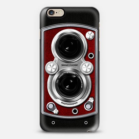 Vintage Camera Red - New Standard Case #camera #case #lens #retro #vintage #classic #iphone #iphonecase