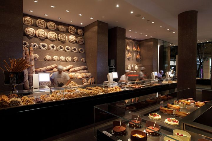 Bakery Shop Design Bl� bakery by claudio