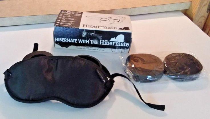 Hibermate Luxury Eye Mask with Ear Muffs for Sleeping