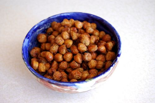 Hot 'n Spicy Chickpea Snackers | Vegan Recipes from VeganMeals.com