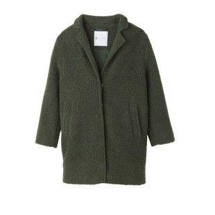 """manteau vert la redoute"""