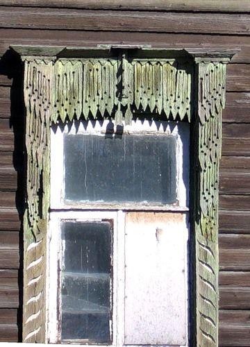 Тутаев (Романов-Борисоглебск) Наличник дома на Борисоглебской… - Наличники России