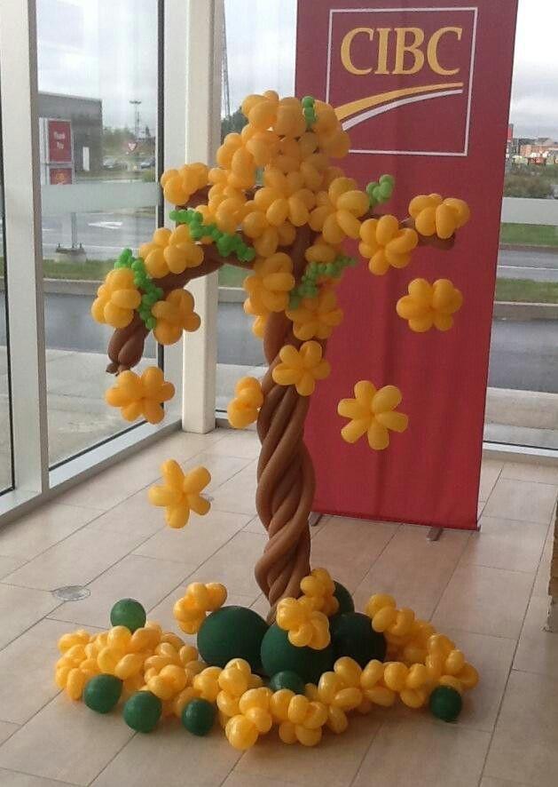 balloon tree decor: #balloon #art