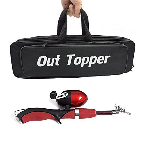 Out Topper Fishing Kit Spinning Rod & Reel Combos With 1.4m Telescopic Fishing Rod Pole Spinning Fishing Reel Fishing Bag Set Seawater Freshwater Fishing Suits  http://fishingrodsreelsandgear.com/product/out-topper-fishing-kit-spinning-rod-reel-combos-with-1-4m-telescopic-fishing-rod-pole-spinning-fishing-reel-fishing-bag-set-seawater-freshwater-fishing-suits/  PERFECT SET: This portable fishing kit is special made for novice, including necessary accessories for fishing: