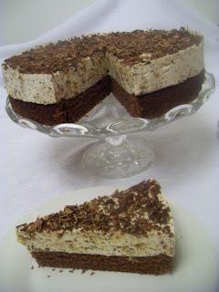 čokoládovo-marcipánová torta