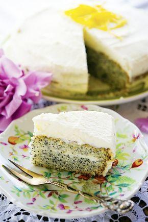 Маковый торт / Torta al papavero | Элла Мартино Рецепты Кулинарные туры Итальянская кухня