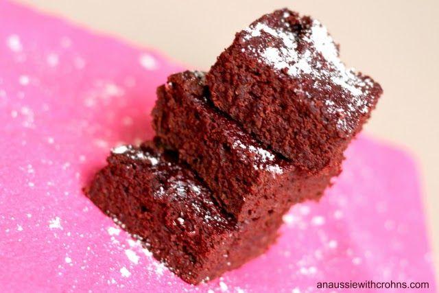 Beetroot Chocolate Brownies (Paleo, GAPS)  #justeatrealfood #anaussiewithcrohns