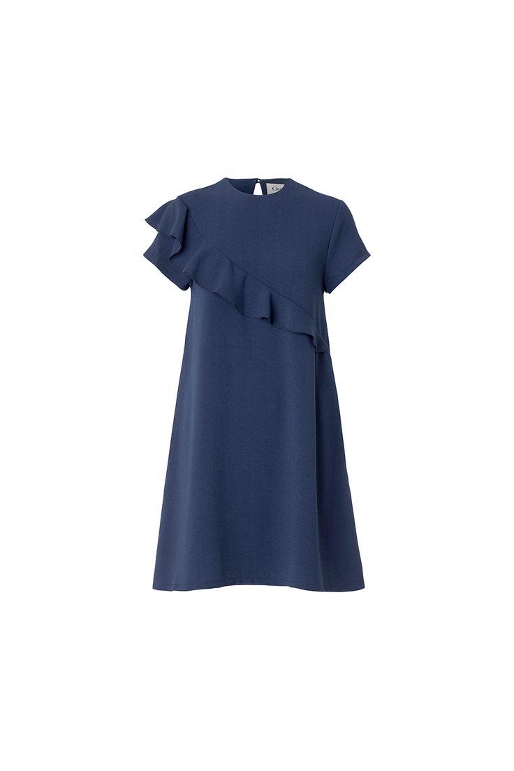 Santa Monica navy dress from Ganni Spring / Summer 2015 collection.