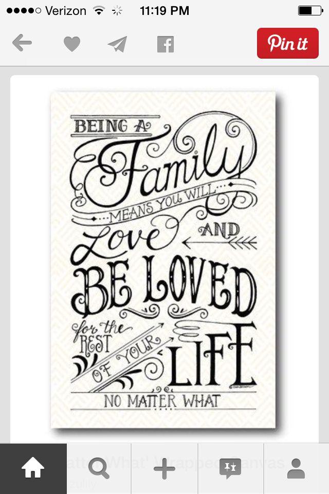 <3 familie