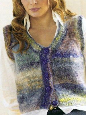 Waistcoat | Knitting Fever http://knittingfever.com/noro/pattern/waistcoat-2/