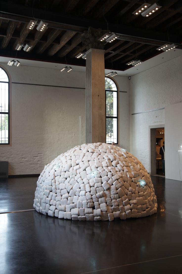 Venezia: Biennale Arte 2015. Mario Merz – Città irreale. Gallerie dell'Accademia