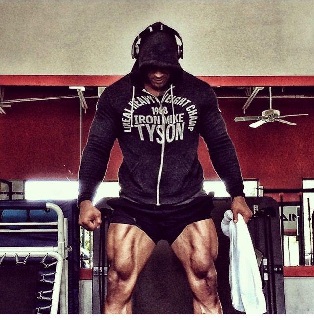 Quads of the Gods! The beautiful Mr. Dwayne Johnson!