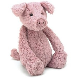 Jelly Cat Bashful Piggy.  Really, all Jelly Cat stuffed animals are just awesome.