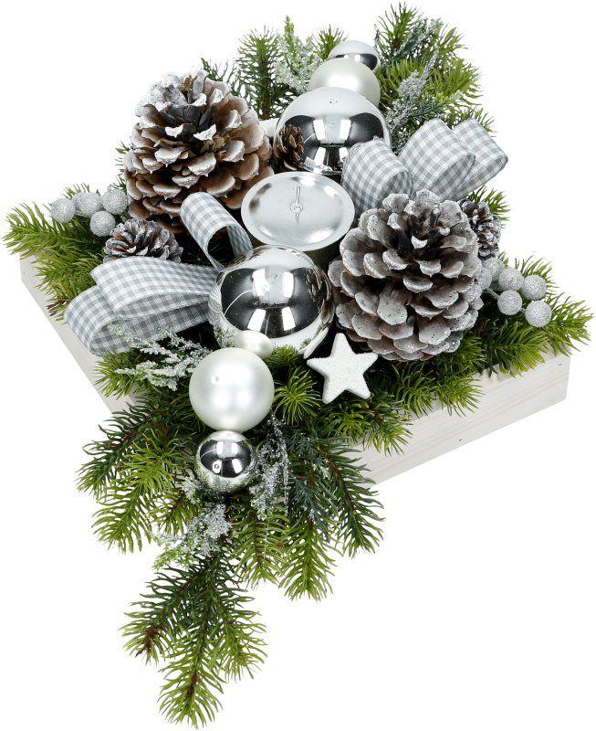 Stroik Bozonarodzeniowy Swiateczny 50cm Na Stol S4 7038894323 Oficjalne Archiwum Allegro Farmhouse Christmas Decor Christmas Decorations Christmas Wreaths