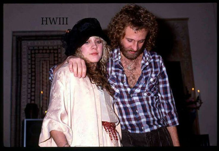 Stevie Nicks with her brother, Chris, photo by HWIII