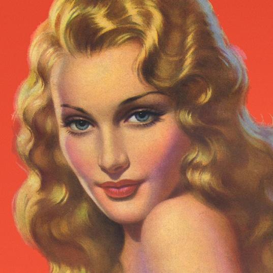 Andrew Loomis - pin-up artist, beautiful woman vintage art
