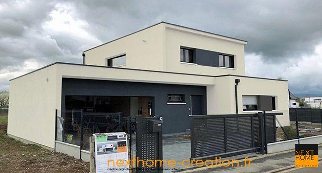 Nexthome Constructeur De Maison Moderne Dans Le Haut Rhin Maisons Contemporaines Nexthome Construction Maison Moderne Plan Maison Moderne Maison Moderne