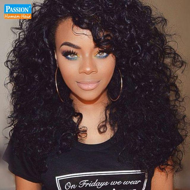"Malaysian Curly Hair Afro Kinky Curly Hair 3 Bundle 8A Unprocessed Malaysian Kinky Curly Virgin Hair 8""-30"" Human Hair Extension"