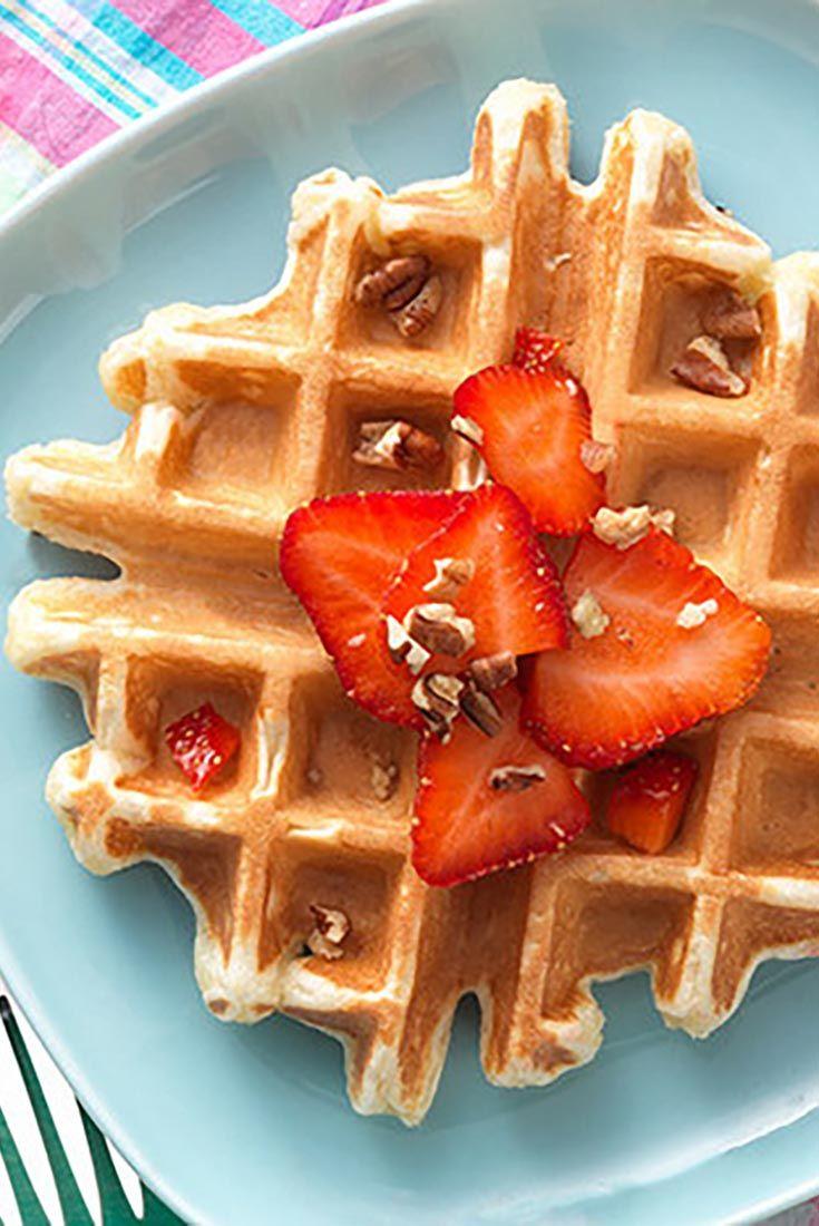 Classic Sourdough Waffles or Pancakes Recipe