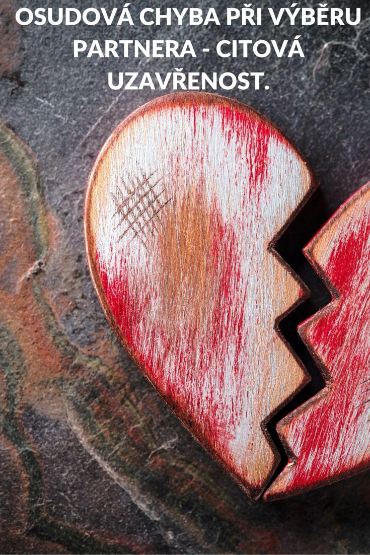 Přečtěte si článek - Osudová chyba při výběru partnera ... http://harmonickyvztah.cz/osudova-chyba-pri-vyberu-partnera-citova-uzavrenost/
