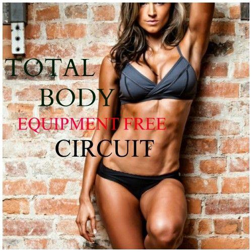 Total Body Equipment Free Circuit