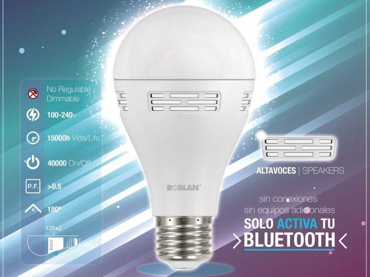 POP, la nueva e increíblemente discreta bombilla LED con altavoces