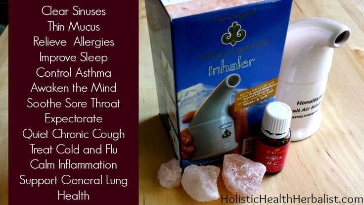 The Amazing Health Benefits of Himalayan Salt Inhalers - Holistic Health Herbalist