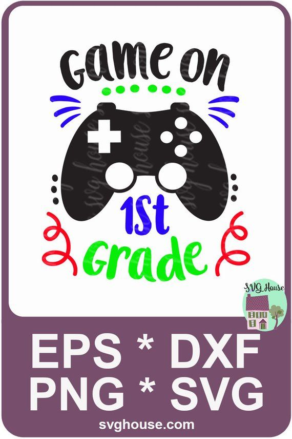 cute SVG | 1st day of school PNG First day of school svg 1st grade SVG