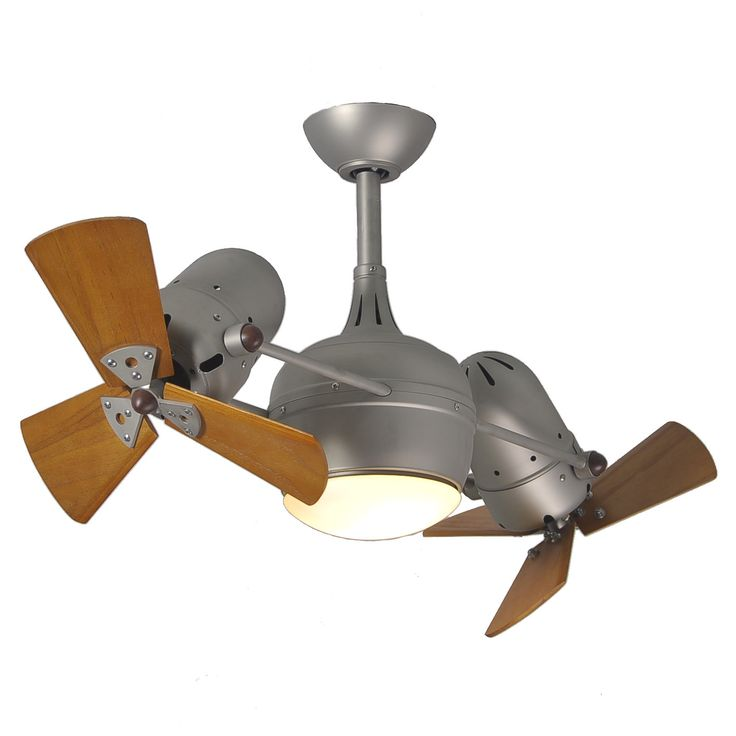 """41"""" Dagny 6-Blade Dual Ceiling Fan with Wall Remote"""