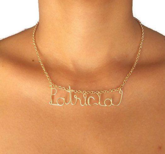 Mira este artículo en mi tienda de Etsy: https://www.etsy.com/es/listing/476389706/collar-personalizado-de-nombre-collar-de