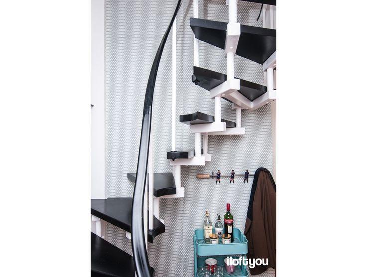 #proyectobonanova #iloftyou #interiordesign #interiorismo #barcelona #ikea #ikealover #ikeaaddict #raskog #stairs