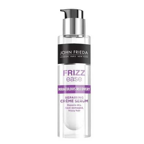 Frizz Ease Miraculous Recovery Сыворотка для интенсивного ухода за непослушными волосами John Frieda Восстанавливает сухие, ломкие и поврежденные волосы. Устраняет повреждение. Интенсивная сыворотка Miraculous Recovery активно борется с ломкостью, сухостью и проблемой секущихся волос, преображает непослушные, пересушенные и поврежденные постоянной укладкой волосы. Делает волосы послушными для желаемой укладки. Интенсивная укрепляющая формула борется с проблемой секущихся кончиков…