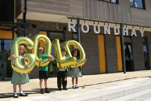 Roundhay School in North Leeds celebrates Investors in People Gold accreditation