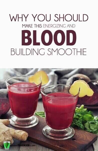 why you should make this energizing liver and blood building smoothie